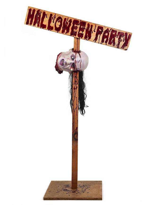Halloween Party Signpost