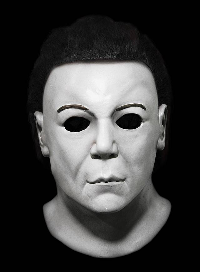 Michael Myers Mask Halloween 1.Halloween Resurrection Deluxe Michael Myers
