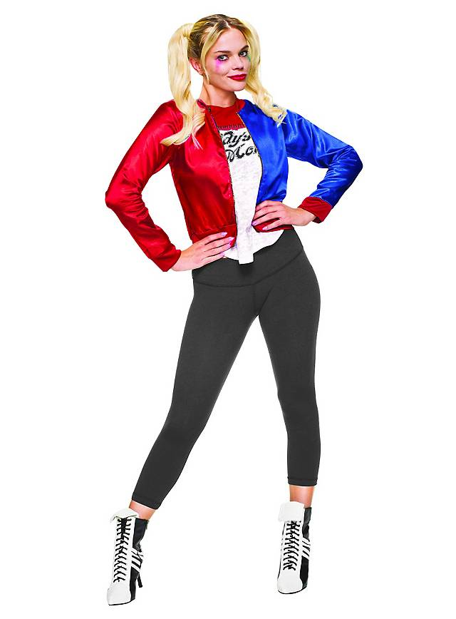 Harley Quinn Jacke mit Shirt-Einsatz