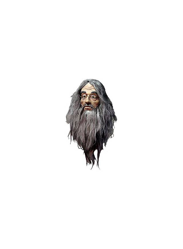 Harry Potter Albus Dumbledore Maske aus Latex