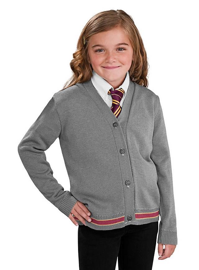 Harry Potter Hermine Strickjacke und Krawatte Kinderkostüm