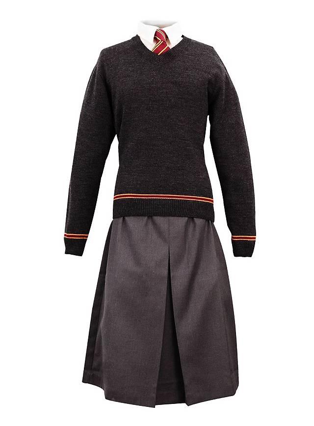 harry potter hogwarts skirt gray