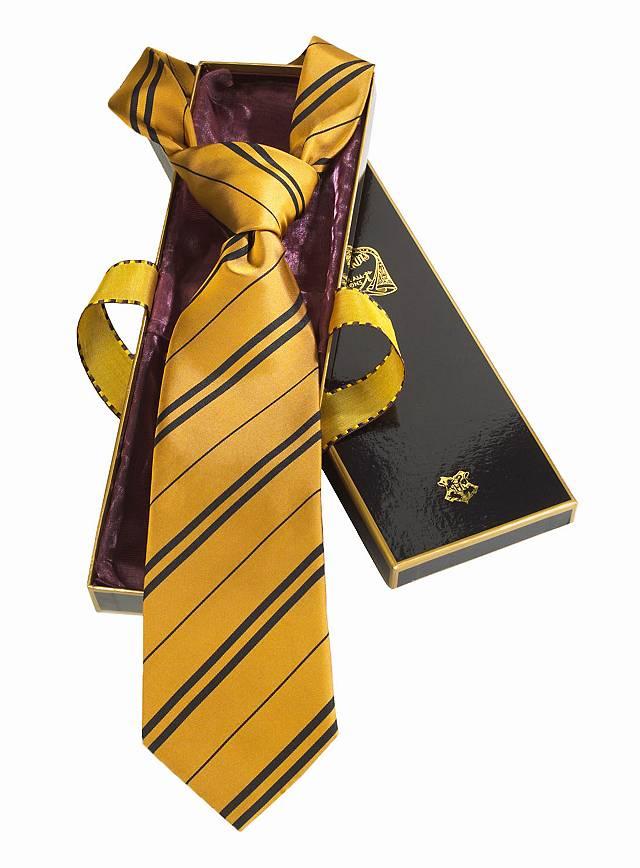 Harry Potter Hufflepuff Tie Maskworld Com