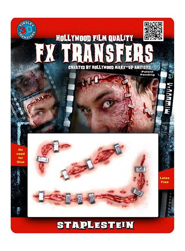 Heftklammern 3D FX Transfers