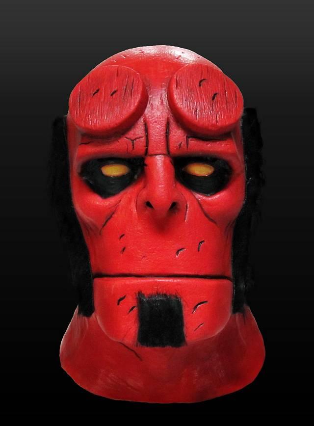 Hellboy Deluxe Maske aus Latex