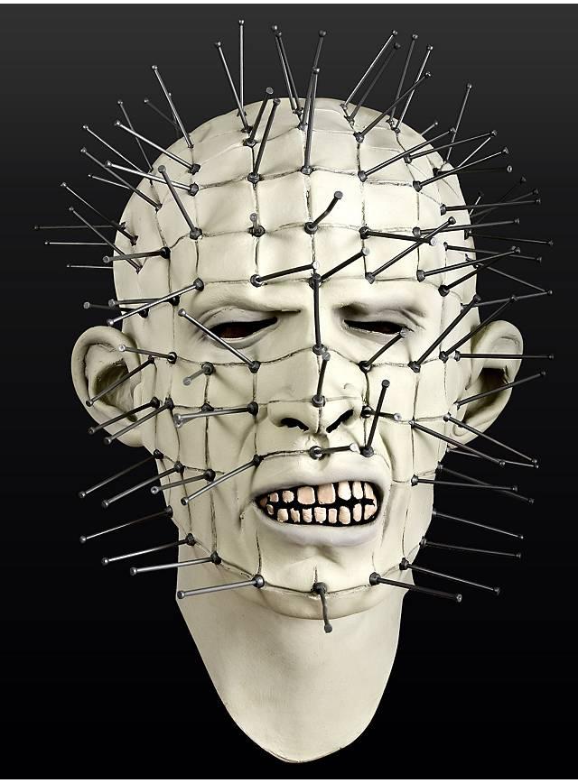 hellraiser pinhead maske aus latex. Black Bedroom Furniture Sets. Home Design Ideas