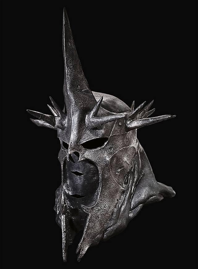 Herr der Ringe Hexenkönig Maske aus Latex