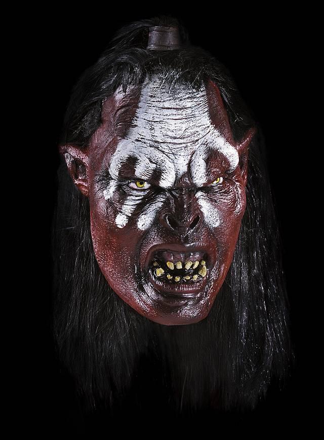 Herr Der Ringe Ork Lurtz Maske Aus Latex