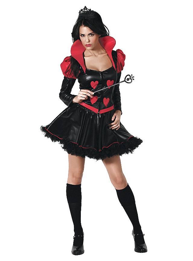 Herzkönigin Kostüm