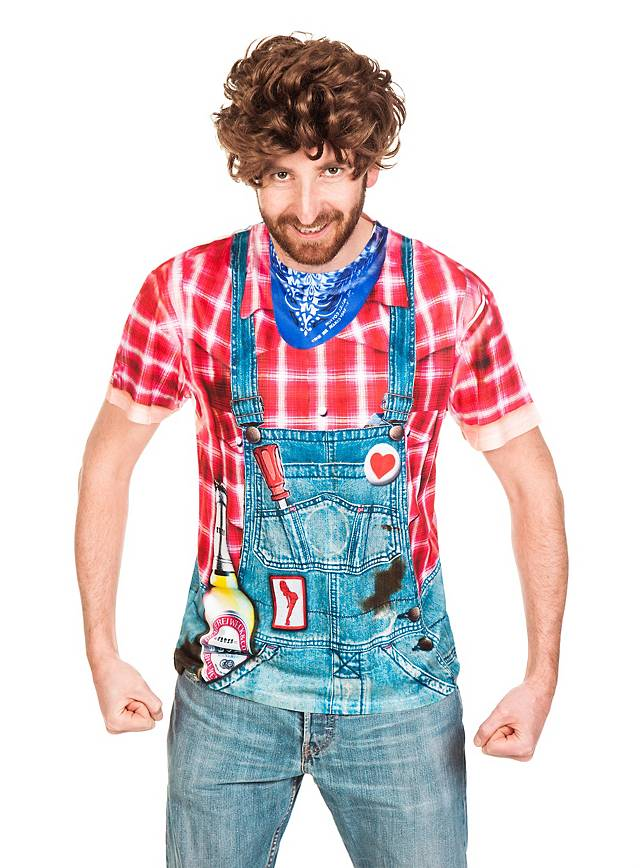 Hillbilly costume t shirt for Costume t shirts online