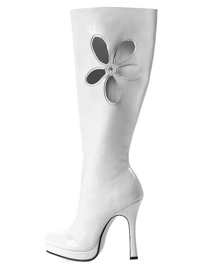 Hippie Boots white