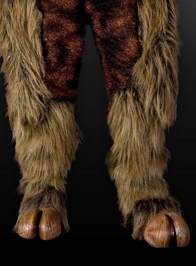 Hooves brown