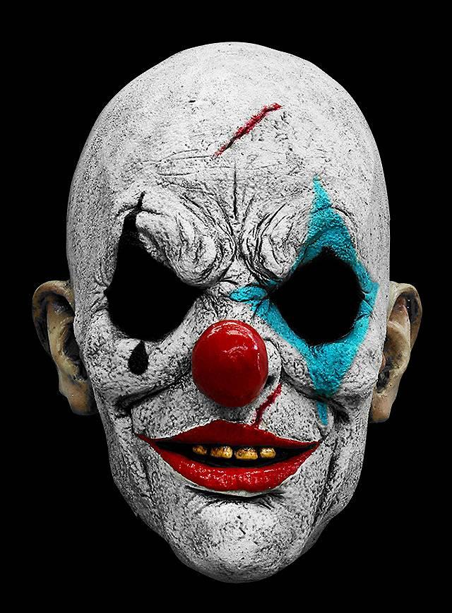 Clown Face Paint Designs Scary