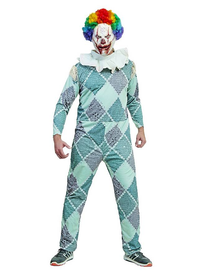 Horrorclown Pastell Kostüm