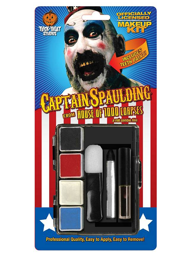 House of 1000 Corpses Captain Spaulding Make-up Kit