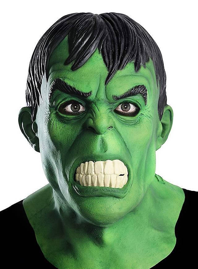 Hulk Vollmaske aus Latex