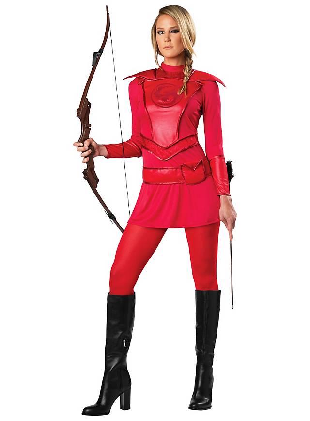 Huntress costume lady