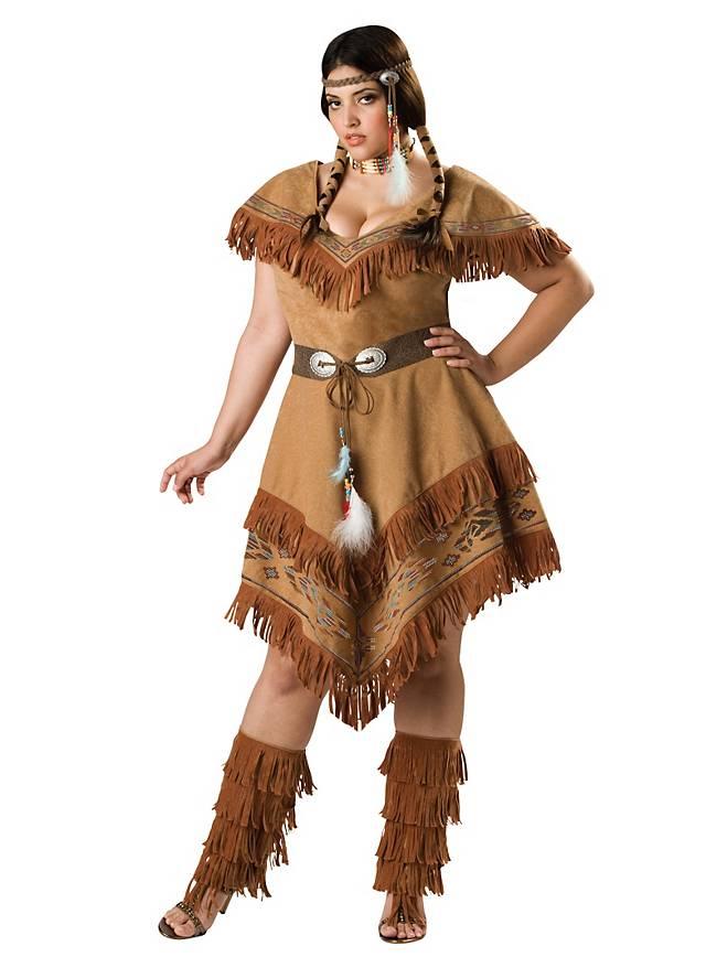 Indianer Damen Kostum Fur Die Indianerin