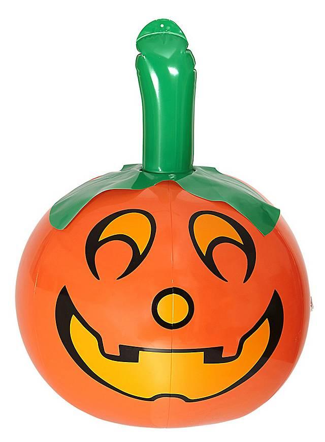 Inflatable pumpkin