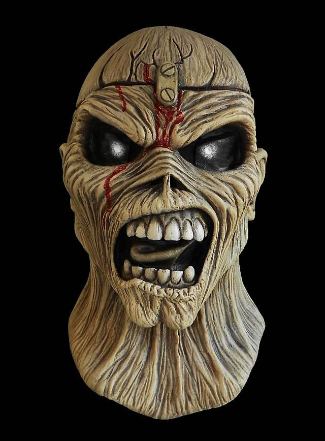 Iron Maiden Piece Of Mind Maske Heavy Metal Maske Maskworld Com