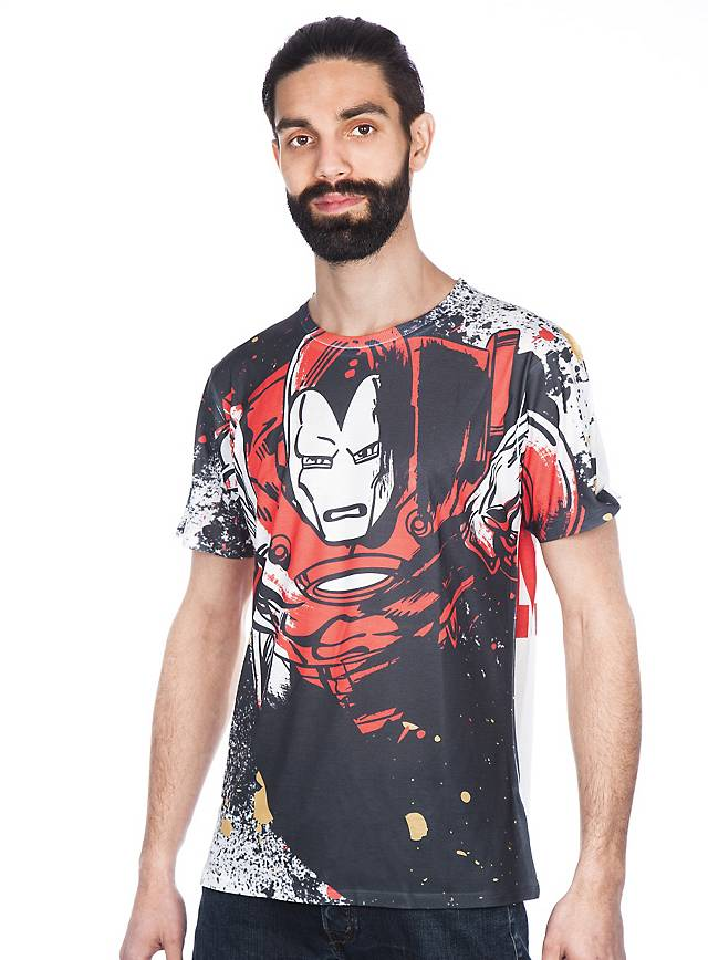 iron man t shirt superhelden shirt jetzt kaufen. Black Bedroom Furniture Sets. Home Design Ideas