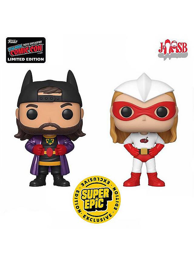 Jay and Silent Bob - Bluntman and Chronic Funko POP! Figuren Set (Fall Convention Exclusive)