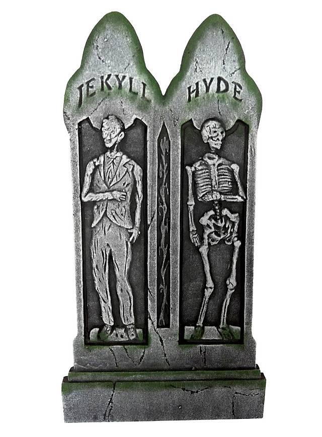 Jekyll & Hyde Tombstone Halloween Decoration