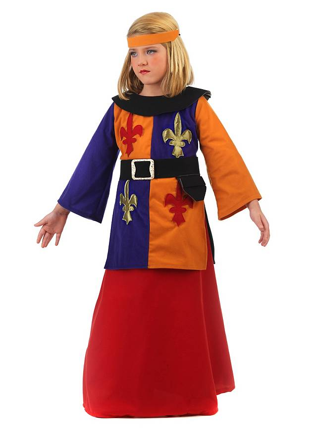 Joan Of Arc Kids Costume Maskworldcom