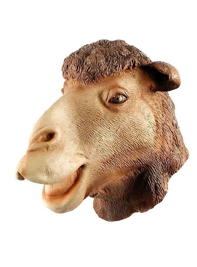 Kamel Maske aus Latex