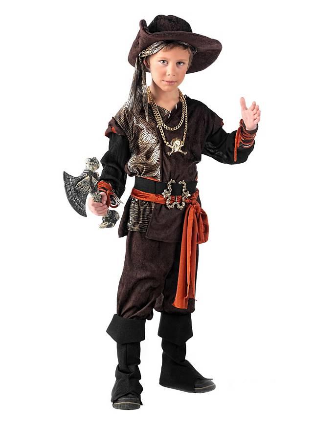 Karibischer Pirat Kinderkostüm