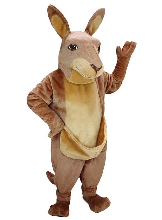 Karl le kangourou Mascotte