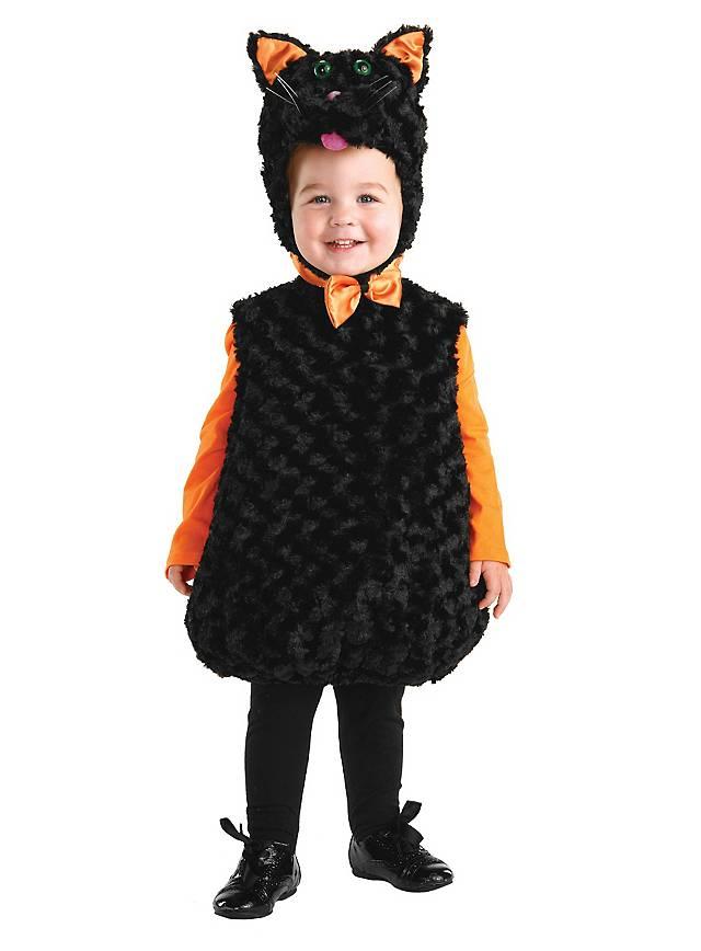 Katze Kinderkostüm schwarz