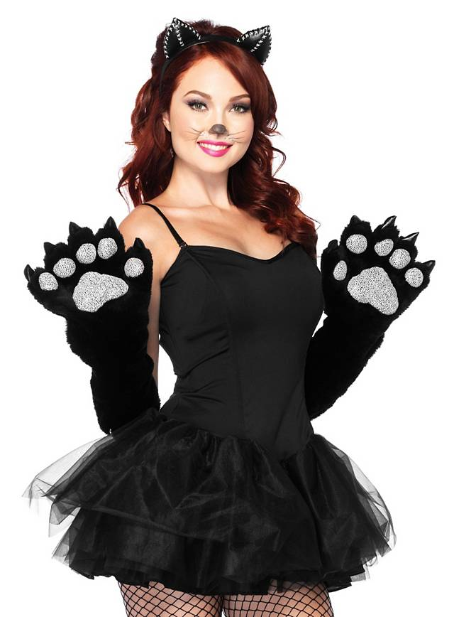 How To Make Cat Paw Gloves