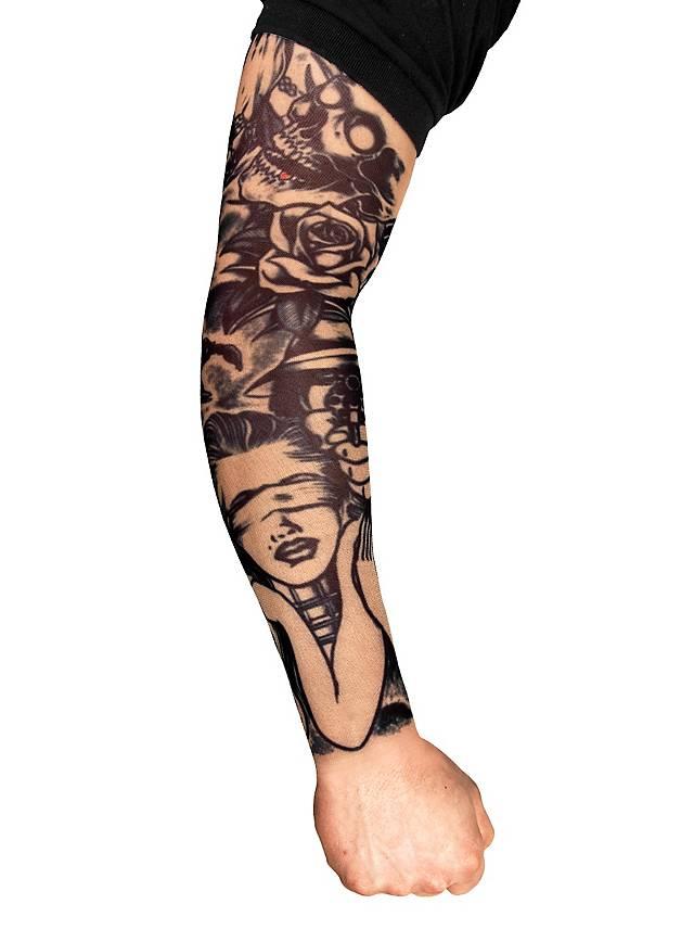 Killer tattoo sleeve for Tattoo on fake skin
