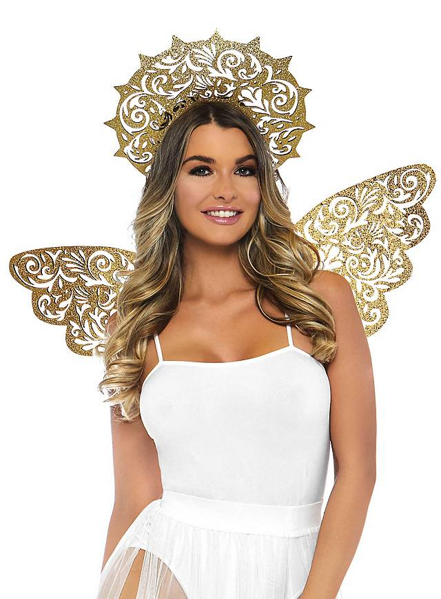 Kit d'accessoires d'ange de Noël