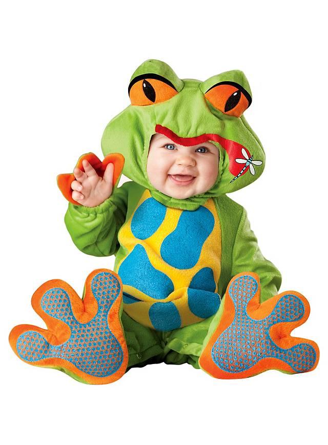 Kleiner Frosch Babykostüm