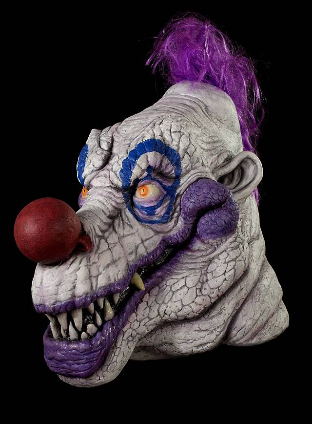 Klownzilla Killerclown Maske aus Latex