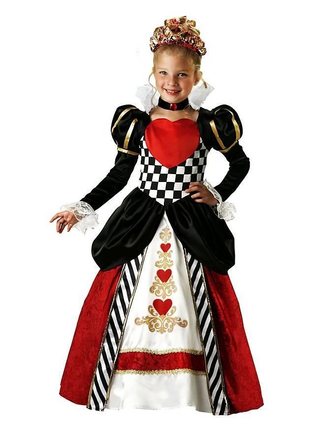 Königin der Herzen Kinderkostüm
