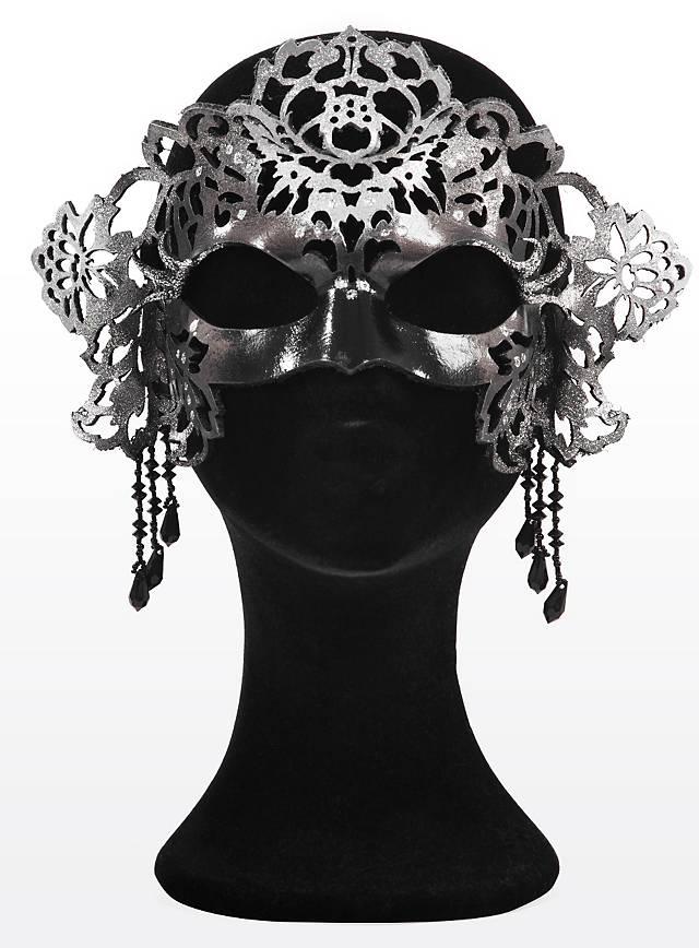 Königin der Nacht Ledermaske