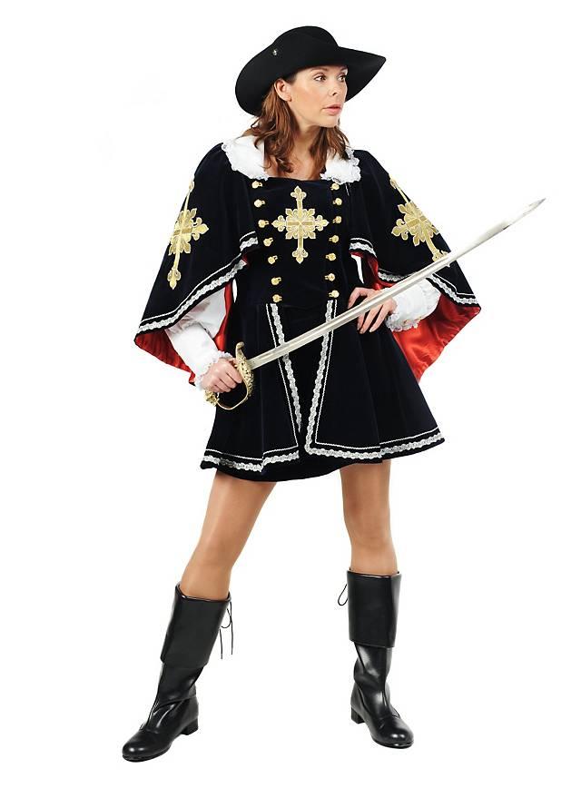 Königliche Musketierin Kostüm