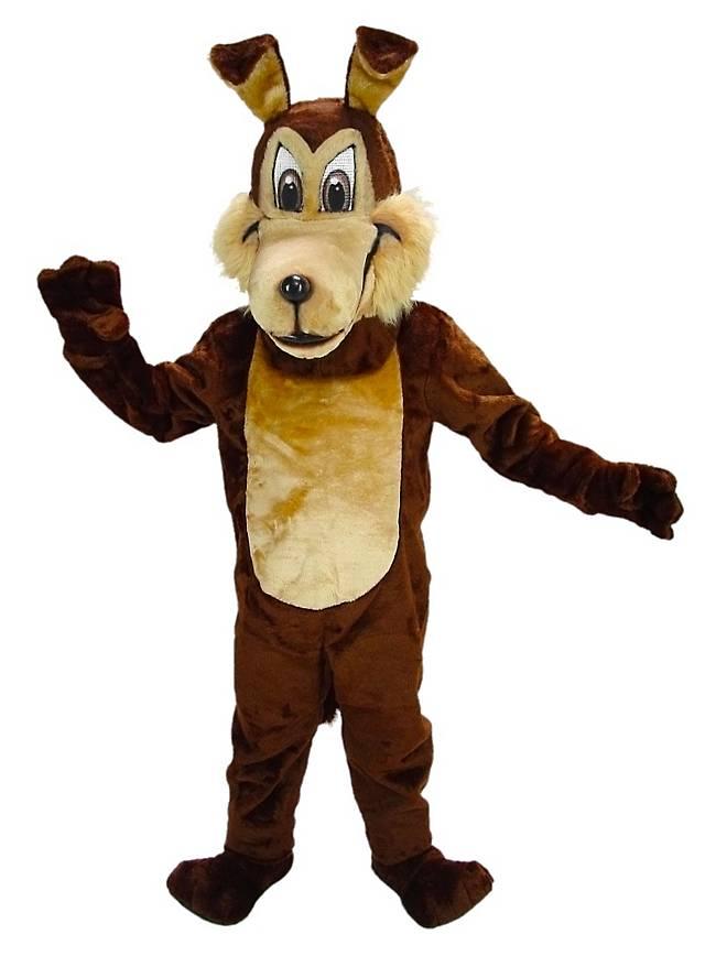 Kojote Maskottchen