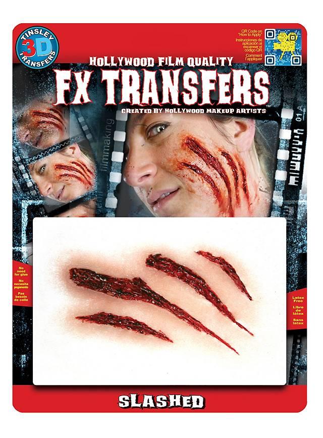 Kratzwunde 3D FX Transfers