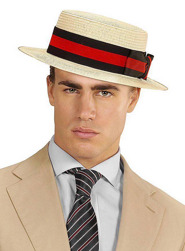 Die klassische Kopfbedeckung für Gentlemen der 20er Jahre