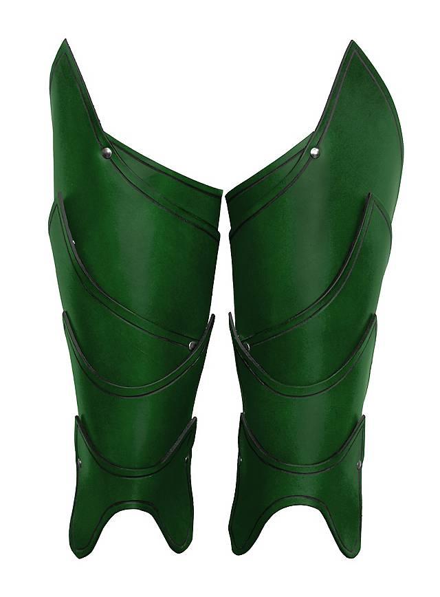 Kriegsherr Beinschienen grün