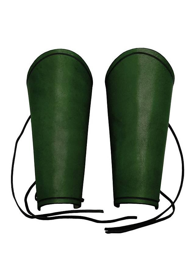 Kriegsknecht Armschienen grün