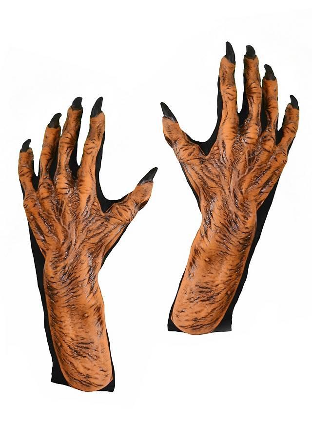 Kürbismonster Hände aus Latex