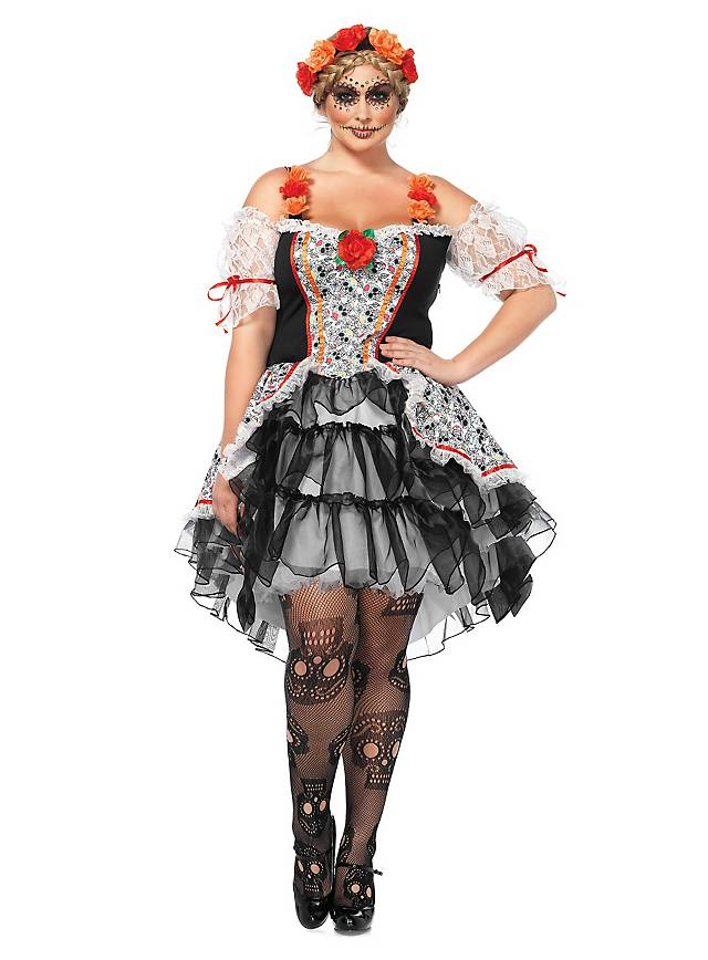 La Catrina Kostum Xxl Online Kaufen Maskworld Com