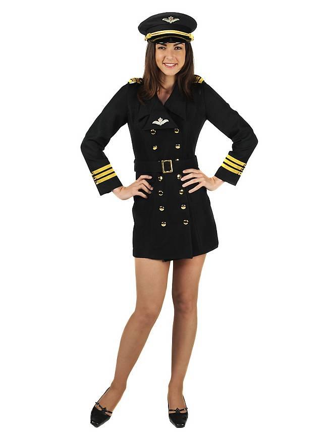 Lady Co Pilot Costume Maskworld Com