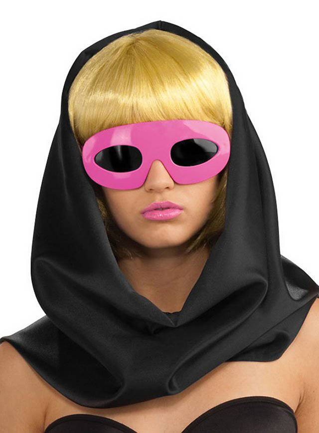 Lady Gaga Sonnenbrille pink