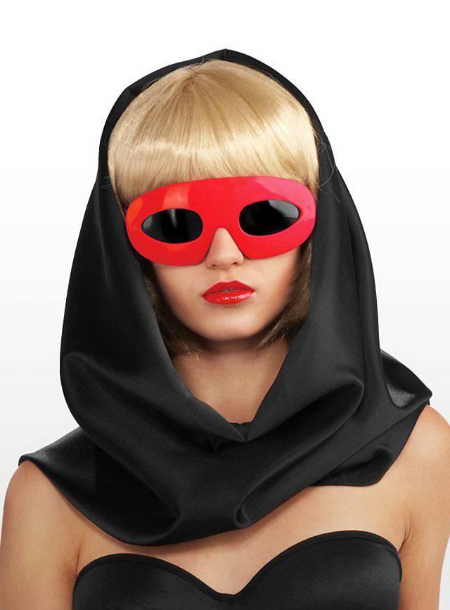 Lady Gaga Sunglasses red